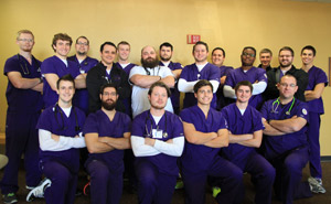 19 male nursing students