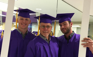 Father and two sons graduate Butler together
