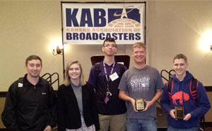 Butler Community College students at the KAB workshop.