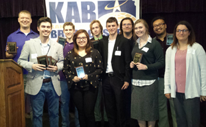 Butler Community College KAB Award winners