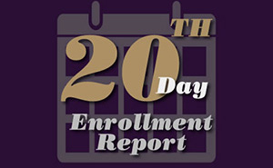 20th Day Enrollment Report