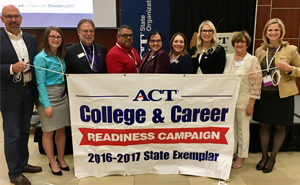 State Exemplar award for ACT readiness