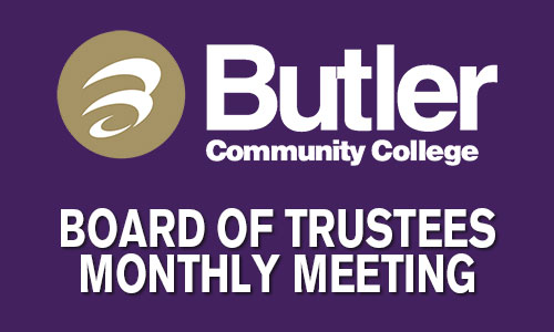 Board of Trustees Monthly Meeting graphic