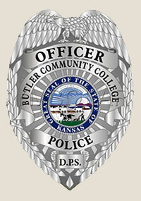 Butler campus police badge