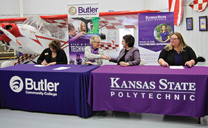 Butler and KSU signed a partnership