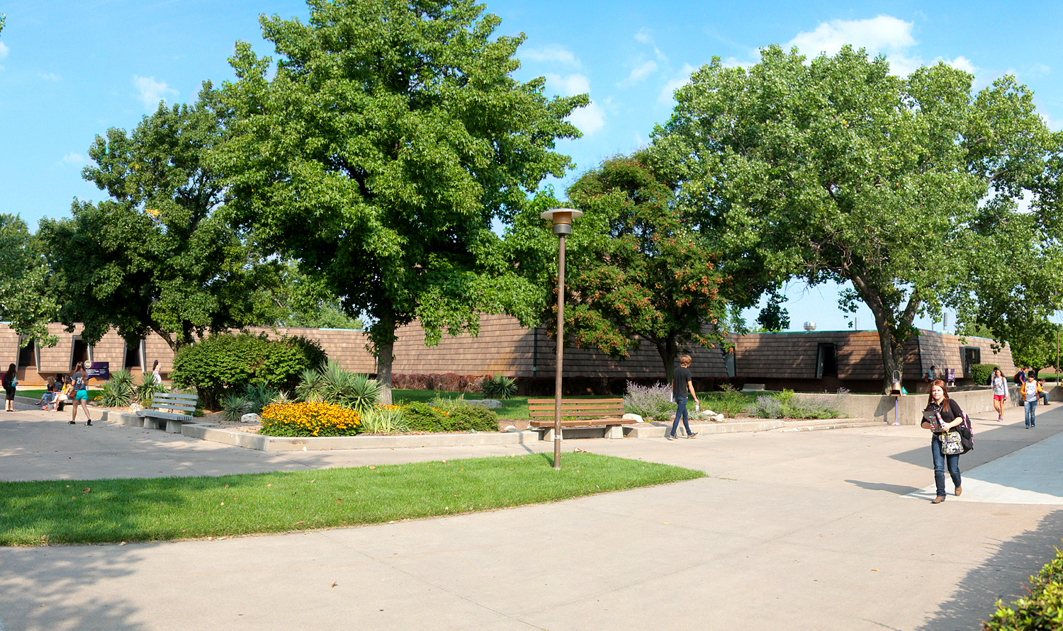 Campus locations panorama