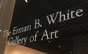 Eb white art gallery
