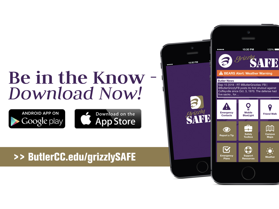 Download the GrizzlySAFE App