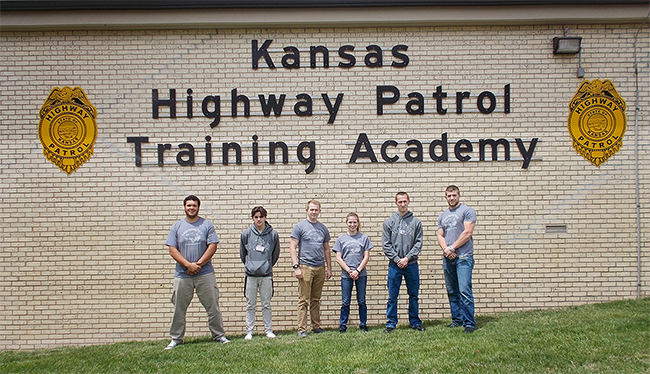Butler students graduated the Kansas Highway Patrol Academy