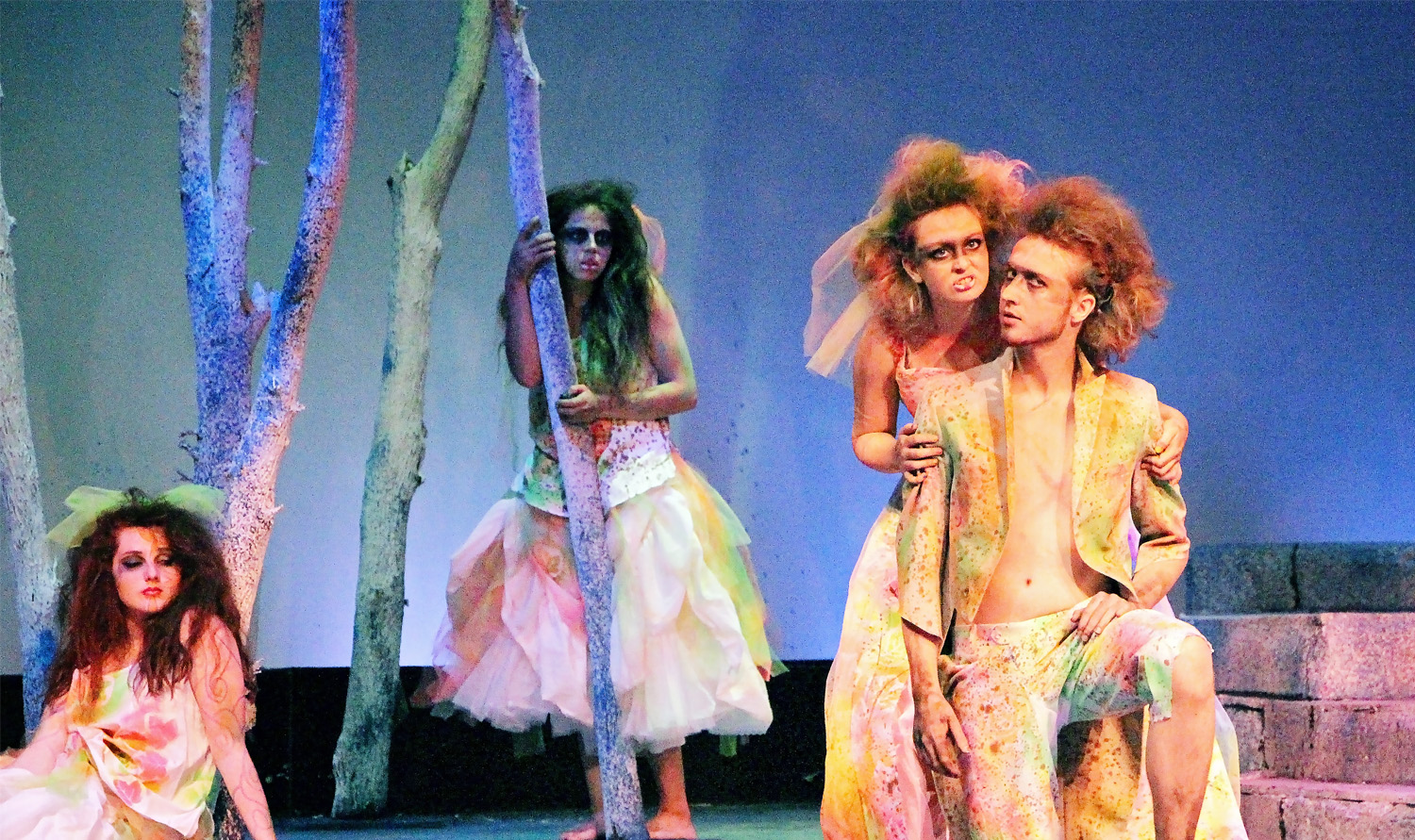 Midsummer night s dream performed by Butler's theatre program