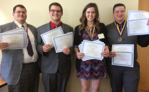 Phi Beta Lambda national conference qualifiers