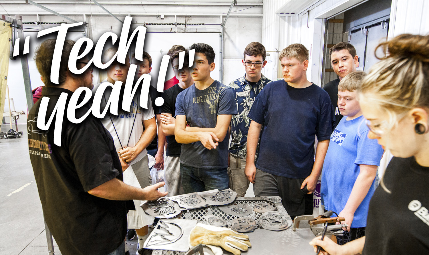 From auto to welding, Butler's technology department can help you train for today's active job market.