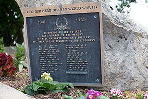 Veterans Memorial Plaque
