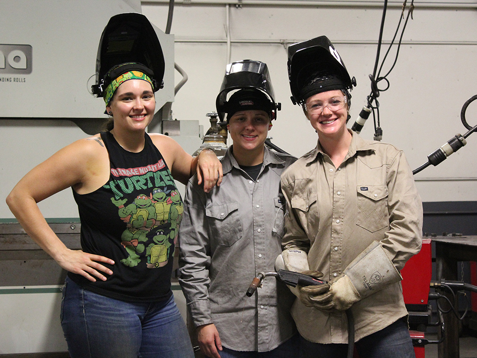 Women Butler Welding