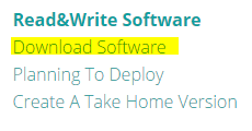 Download readwrite software