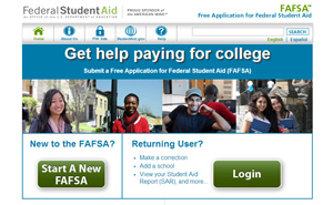 Fafsa website graphic