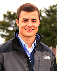 Photo of Taylor Frank livestock judging coach