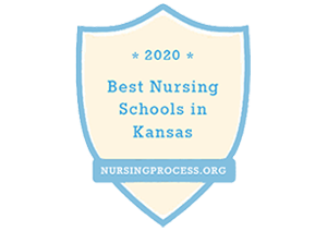 Nursingprocess.org Best Nursing Schools in Kansas Badge