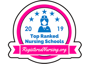 RegisteredNursing.org Top Ranked Badge